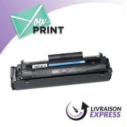 HP Q2612A / 12A alternatif - Toner Noir