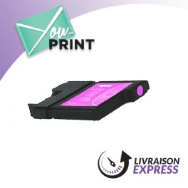 BROTHER LC980M compatible - Cartouche d'encre magenta