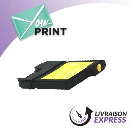 BROTHER LC970Y compatible - Cartouche d'encre jaune