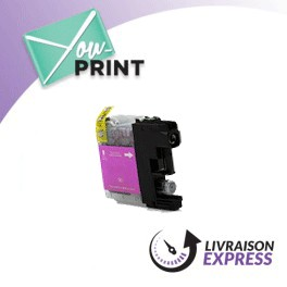 BROTHER LC125XLM compatible - Cartouche d'encre magenta