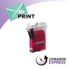 BROTHER LC800M compatible - Cartouche d'encre magenta
