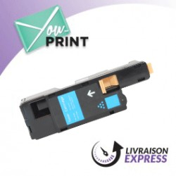 XEROX 106 R 01627 alternatif - Toner Cyan