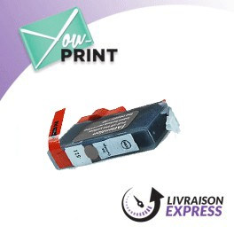 CANON CLI-521 GY / 2937 B 001 compatible - Cartouche Grise