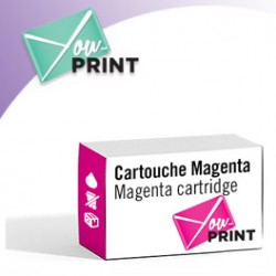 Brother LC525XLM compatible - Cartouche d'encre magenta