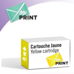 Brother LC525XLY compatible - Cartouche d'encre jaune