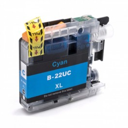 BROTHER LC22UC compatible - Cartouche d'encre cyan